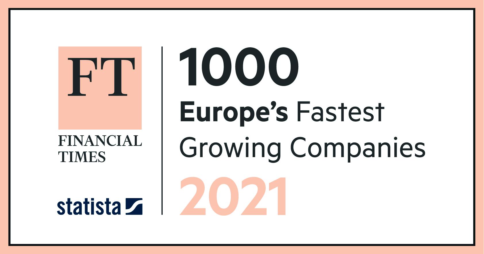 FT 1000: tysiąc najszybciej rozwijających się firm w Europie
