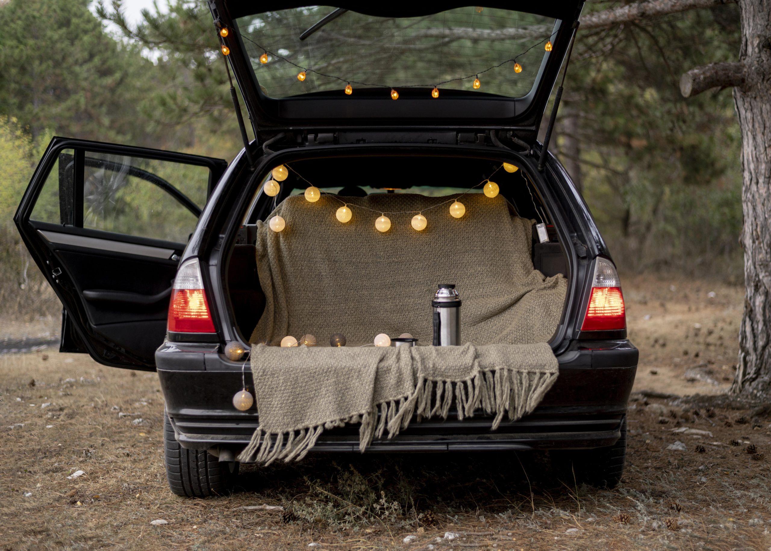 Bagażnik auta typu kombi