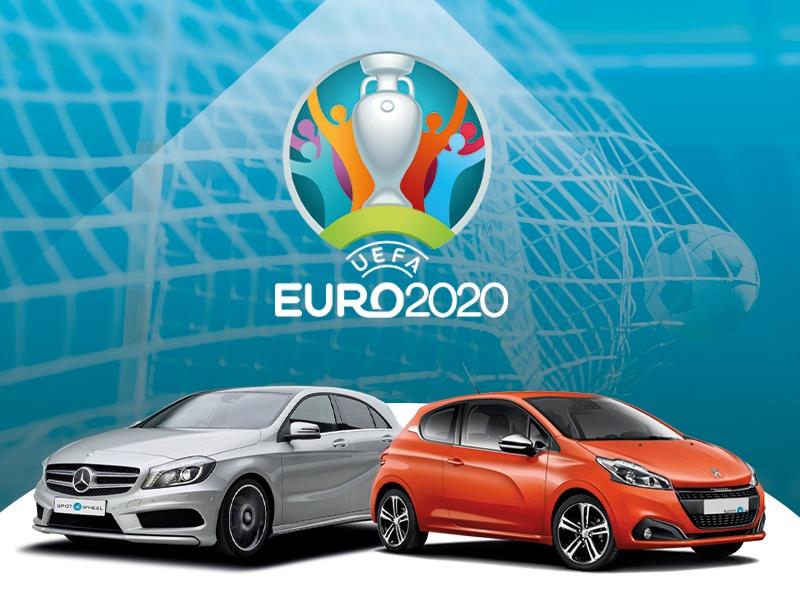 Euro 2020 - samochody z krajów finalistów